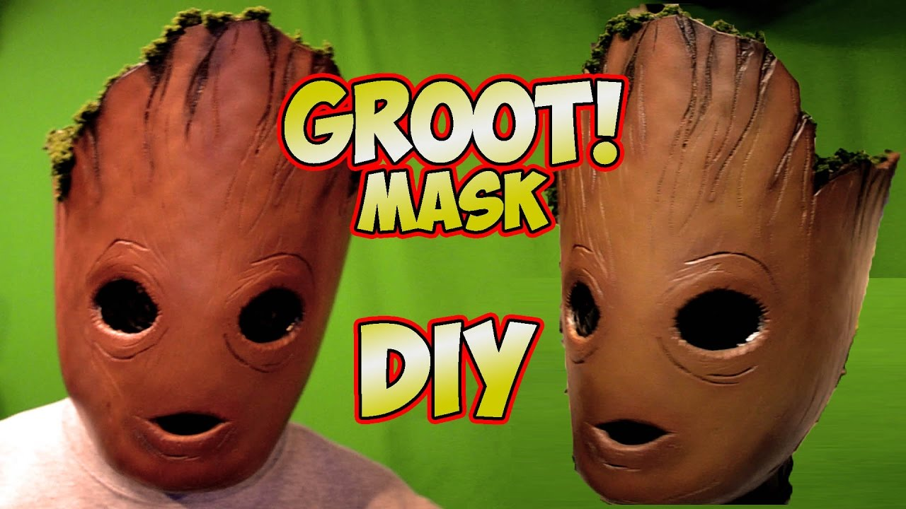 Groot baby groot how to diy mask guardians of the galaxy vol2 youtube solutioingenieria Images