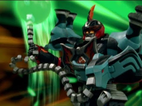 Power Rangers Jungle Fury - Jungle Master Megazord with ...