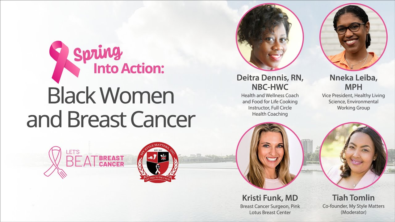 Black Women and Breast Cancer | Spring Into Action Event