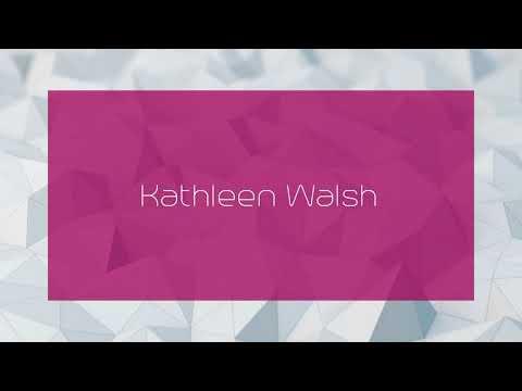 Kathleen Walsh - appearance