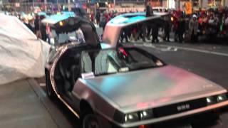 """Dolorean из """"""""Назад в будущее"""" видео"""