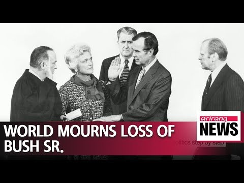 World leaders mourn death of George H.W. Bush