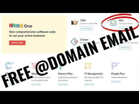 free-@yourdomain-email---free-company-emails---zoho-mail-tutorial