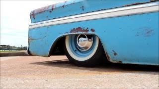 1965 C10 - Dixieland Delight -  Bagged Rat Rod Restomod 350ci V8 Air Conditioning PS PDB