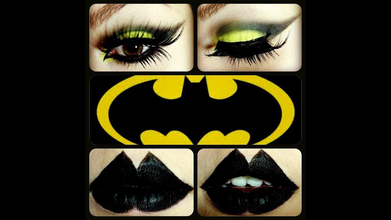 Halloween Bat Woman Inspired Makeup Tutorial Youtube