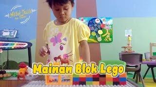 Balita Lucu Main Mainan Anak | Susun Mainan Blok Lego Kid Toys