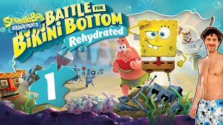 SPONGEBOB: BATTLE FOR BIKINI BOTTOM REHYDRATED 🧽 #1: Nostalgisches Spongebob Game in 4K Ultra HD