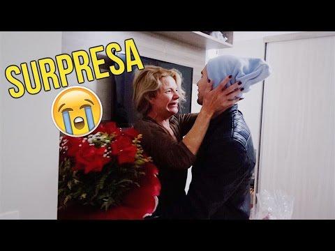 FIZ UMA SURPRESA PRA MINHA MÃE ‹ Carlos Santana ›