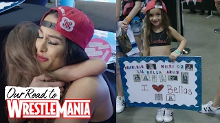YOU inspire Nikki Bella! Thank you for the love and support at WrestleMania Axxess VIP signing