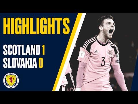 Шотландия - Словакия 1:0 видео