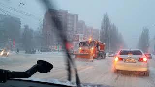 МЕТЕЛЬ - ПОЕЗДКА по городу #КУРСК какой коллапс на дорогах 25.12.2018