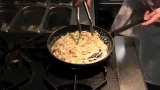 Quick & Easy Smoked Salmon & Prawn Pasta - Cooking With Treyvaud