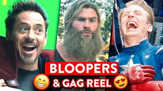 Avengers Bloopers And Behind-The-Scenes Marvel Cast Funny Moments  🍿 OSSA Movies