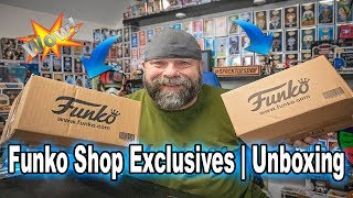 Funko Shop Exclusives | Unboxing