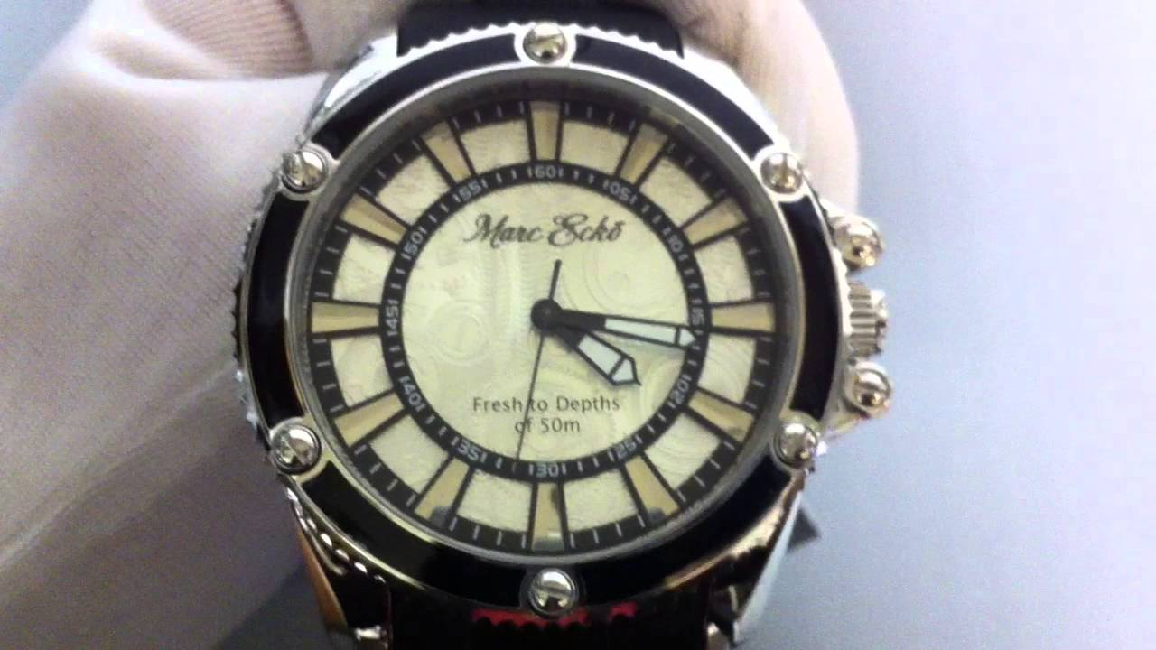 738be25c67e Men s Marc Ecko The Flash Black Watch E12576G2 - YouTube