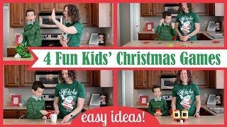 4 Best Fun Kids' Christmas Games