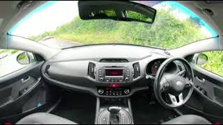 360° All Round Interior View of a 2010 Kia Sportage 2 0 CRDi First Edition AWD 5dr BF60OEO