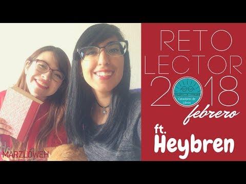 Reto Lector 2018: Febrero ft. Heybren || MLH