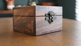 Make a Box to Hold Business Cards