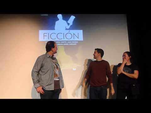 """Presentación de """"Ficción"""" en Cortos con Ñ."""