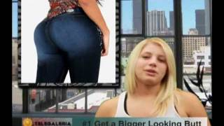 How to Get a Better Looking Butt with Telegaleria Brazilian Butt Lift Jeans