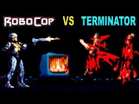 Robocop Vs Terminator SEGA Walkthrough (All Secrets, All Extra Lives)