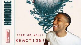 OMG! Logic - Homicide (feat. Eminem) (Official Audio) - REACTION!
