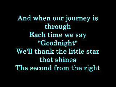 The Second Star to The Right lyrics