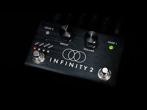 Pigtronix Infinity 2 Double Looper Official Demo By David Koltai