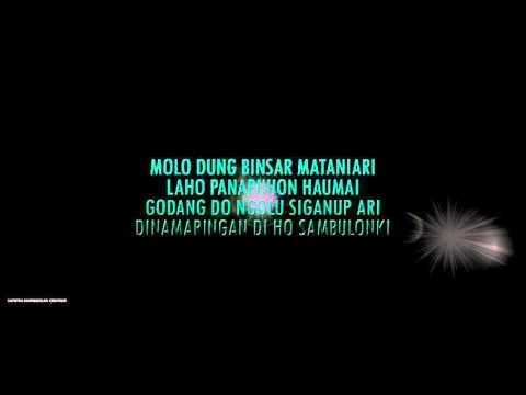 Saputra Nainggolan feat Krisnatania Hutabarat - O Tano Batak (Cover) Bluray 1280i 533p