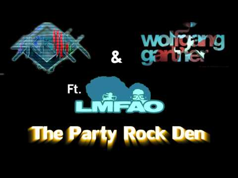 Skrillex & Wolfgang Gartner Ft. LMFAO - The Party Rock Den (Itamar Carmel Mashup)