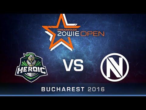 CS:GO - Heroic vs EnVyUs - Mirage - Group A - DreamHack ZOWIE Open Bucharest 2016