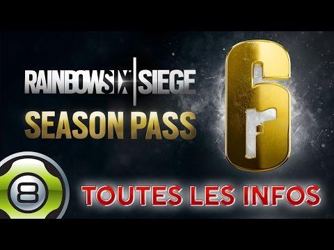 TOUTES LES INFOS SUR LE SEASON PASS ANNÉE 2 - Rainbow Six Siege FR