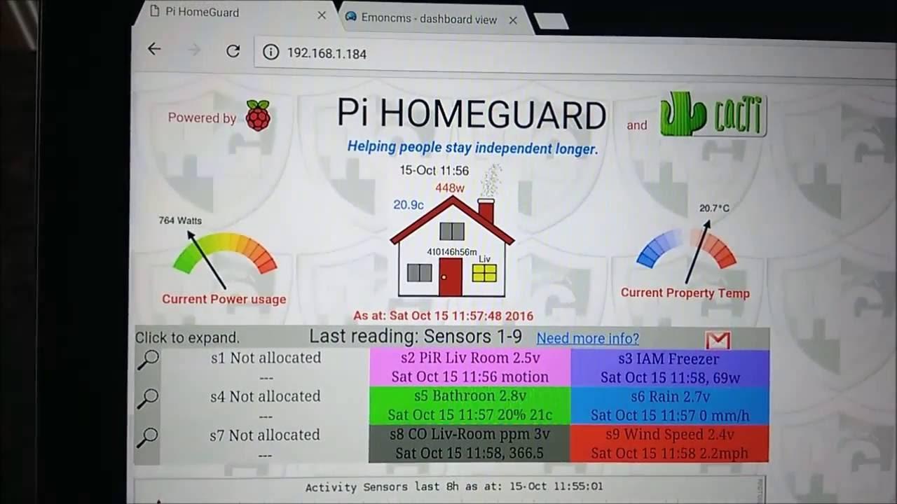 Pi HomeGuard   Indiegogo