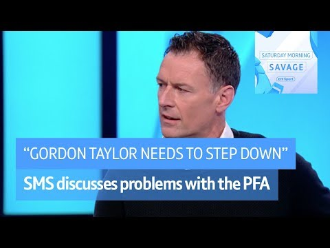 """""""Gordon Taylor has failed his members and needs to go!"""" Chris Sutton on the PFA chief"""