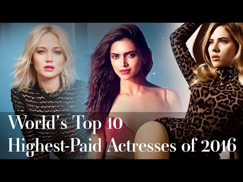 World's Top 10 highest-paid actresses of 2016