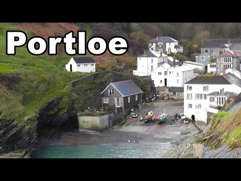 Portloe In Cornwall On A Perfect Day - Crooks In Cloisters And Wild West Location