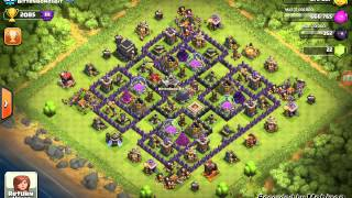 clash of clans meeting one of the top players must see!!!!