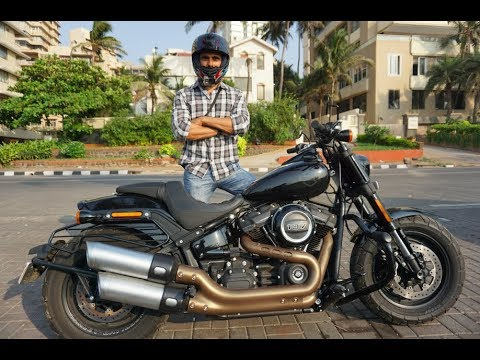 Seven Islands Harley Davidson Fat Bob 2018 Youtube