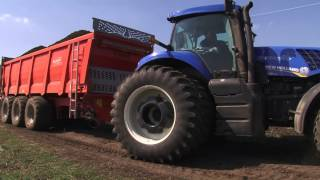 manure spreader brochard in ukraine épandeur à fumier   Rozrzutnik obornika