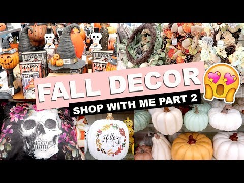 ☆ FALL DECOR | Shop With Me! (Marshalls/TJ Maxx) ☆