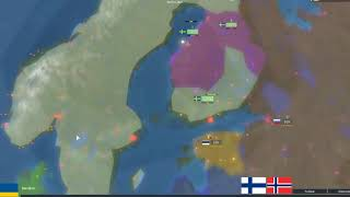 Forming the Kalmar Union in Rise of Nations - ROBLOX