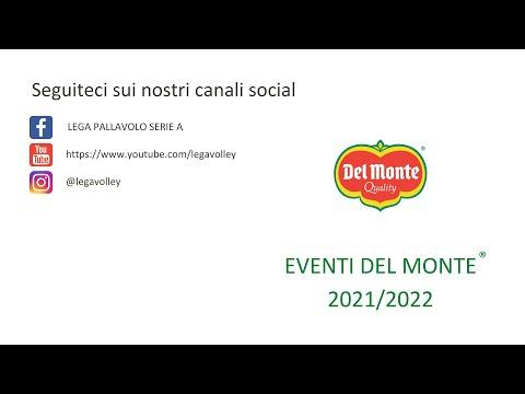 Calendario eventi Del Monte® 2021/2022