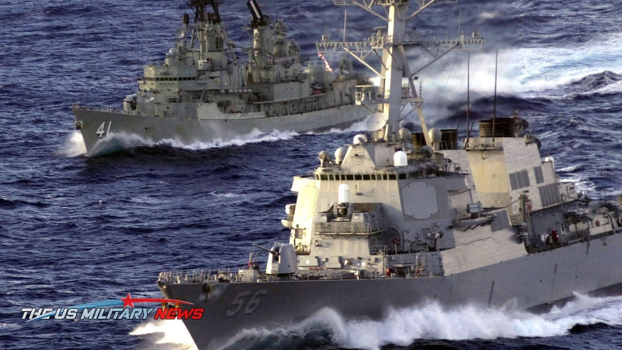 US ready to fight against China:(29 Aug) US ward off Missiles Launched by Beijing to South China Sea