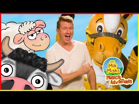 Old MacDonald Had A Farm - Nursery Rhymes & Kids Songs - The Mik Maks
