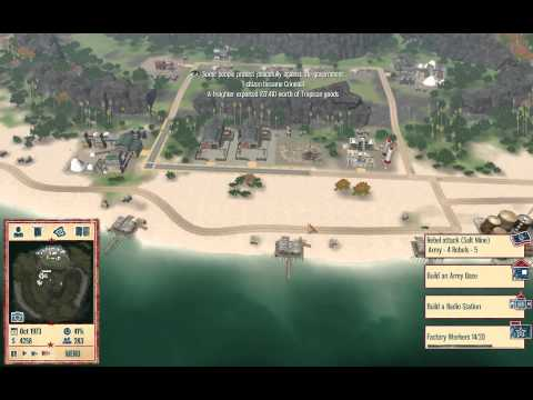 Willcol100 Plays Tropico 4 Independence Day