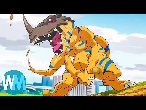 Top 10 Digimon Battles