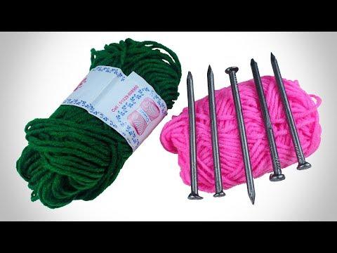 উলের স�তা দিয়ে চমৎকার পাপ�স তৈরি করা শিখ�ন | Best Out Of Woolen Thread