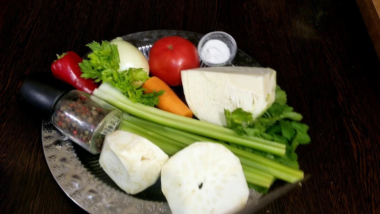 #Сельдереевый суп для похудения #Овощной суп