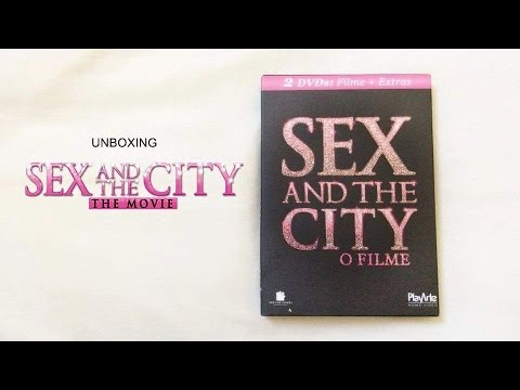 Sex and The City - O Filme | 2 DVDs (Unboxing)